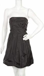 Czarna sukienka Ichi bez rękawów mini