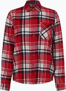082579cb230635 Czerwona koszula Franco Callegari w stylu casual z długim rękawem