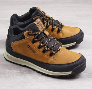 Brązowe buty trekkingowe dziecięce Big Star