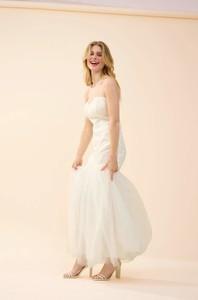 Sukienka ORSAY z długim rękawem maxi z tiulu