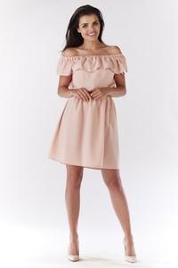 Sukienka Awama z odkrytymi ramionami