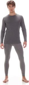 Koszulka męska Cornette Authentic 214 M-3XL - biała/czarna/grafit