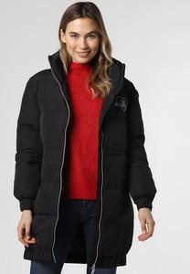 Czarny płaszcz Love Moschino