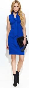 Niebieska sukienka Makadamia mini