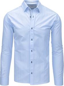 Niebieska koszula dstreet z bawełny
