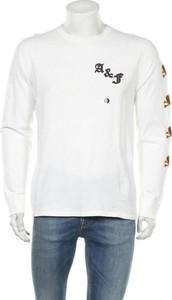 Koszulka z długim rękawem Abercrombie & Fitch w sportowym stylu z bawełny