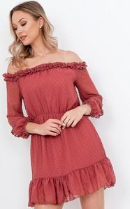 Czerwona sukienka ZOiO.pl mini hiszpanka