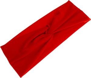 Jubileo.pl CZERWONA OPASKA Z WĘZŁEM kolor czerwony rockabilly