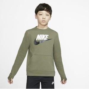 Zielona bluza dziecięca Nike