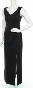 Sukienka Goddiva z dekoltem w kształcie litery v bez rękawów maxi