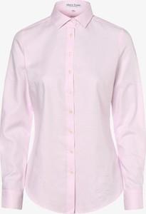 Różowa koszula Marie Lund z kołnierzykiem