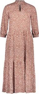 Sukienka Marc O'Polo z długim rękawem maxi w stylu casual