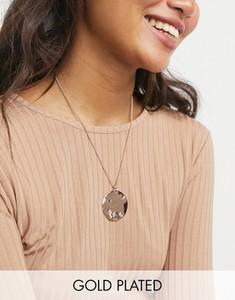Pilgrim – Naszyjnik pozłacany różowym złotem z rustykalną zawieszką