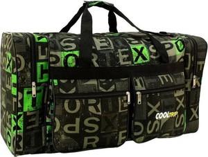 Zielona torba podróżna Pellucci