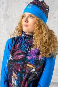 Niebieska czapka Nessi Sportswear