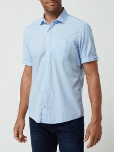 Koszula S.Oliver z klasycznym kołnierzykiem z bawełny z krótkim rękawem