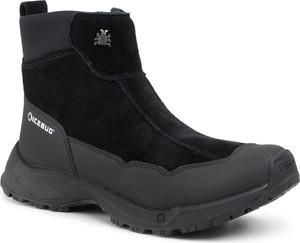 Czarne buty zimowe Icebug