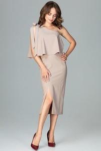 Sukienka LENITIF bez rękawów midi