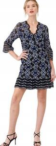 Sukienka V by Very mini w stylu casual z dekoltem w kształcie litery v