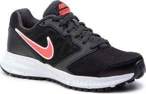 Buty sportowe Nike z płaską podeszwą sznurowane ze skóry ekologicznej