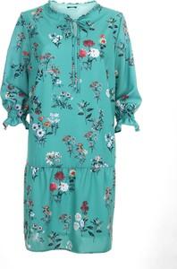 Niebieska sukienka Ibis midi