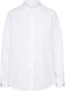 Koszula Boss z długim rękawem z bawełny