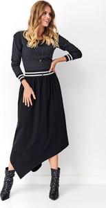 Czarna sukienka Numinou z bawełny