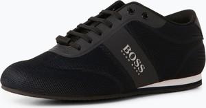 Czarne buty sportowe Boss Menswear Athleisure
