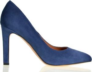 Szpilki lizard-shoes.com ze spiczastym noskiem ze skóry