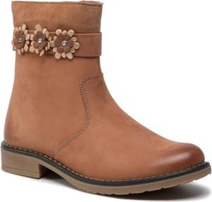 Buty dziecięce zimowe Lasocki Young na zamek