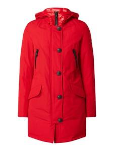 Czerwony płaszcz Blonde No. 8 z bawełny w stylu casual