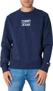 Niebieska bluza Tommy Hilfiger z bawełny w młodzieżowym stylu