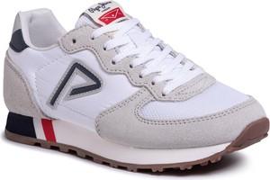 Buty sportowe dziecięce Pepe Jeans z zamszu sznurowane