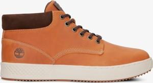 Pomarańczowe buty zimowe Timberland w sportowym stylu