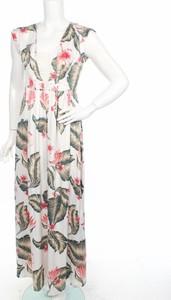 Sukienka Roxy z dekoltem w kształcie litery v maxi