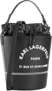 Czarna torebka Karl Lagerfeld