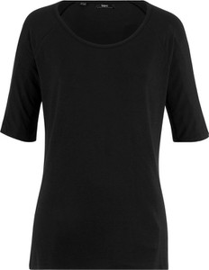Czarny t-shirt bonprix bpc bonprix collection