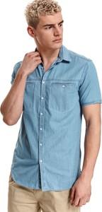 Koszula Top Secret z bawełny z krótkim rękawem