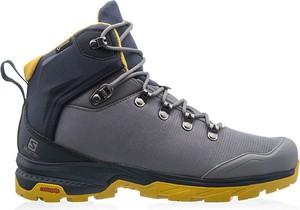 Buty trekkingowe Salomon sznurowane w sportowym stylu