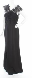 Czarna sukienka True Decadence maxi bez rękawów