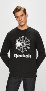 Czarna bluza Reebok Classic z dzianiny