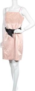 Różowa sukienka Styles By Steps mini bez rękawów