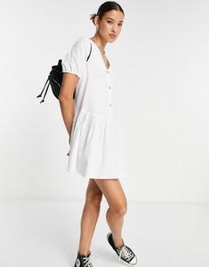 Sukienka Only z żakardu mini z krótkim rękawem