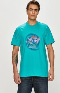 T-shirt LOCAL HEROES z krótkim rękawem w młodzieżowym stylu z bawełny