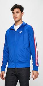 Niebieska bluza Nike Sportswear z bawełny