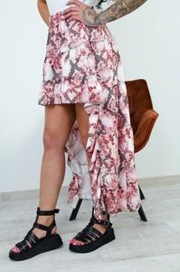 Różowa spódnica Olika w stylu boho