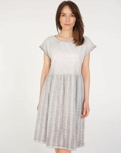 Sukienka Unisono z bawełny w stylu casual