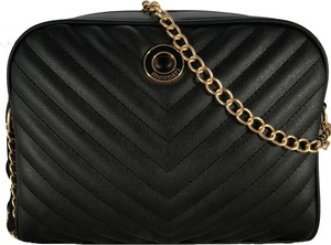 Czarna torebka Monnari na ramię w stylu glamour