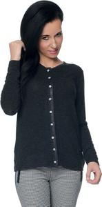 Czarny sweter Top-Bis w stylu casual