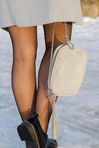 Brązowa torebka Fabiola w stylu glamour